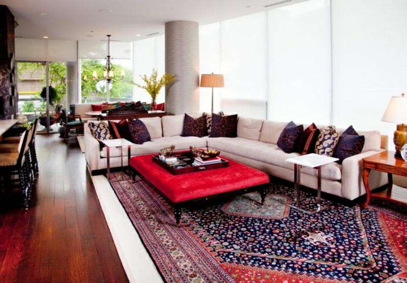 Orientteppich groß hochwertig Wohnzimmer