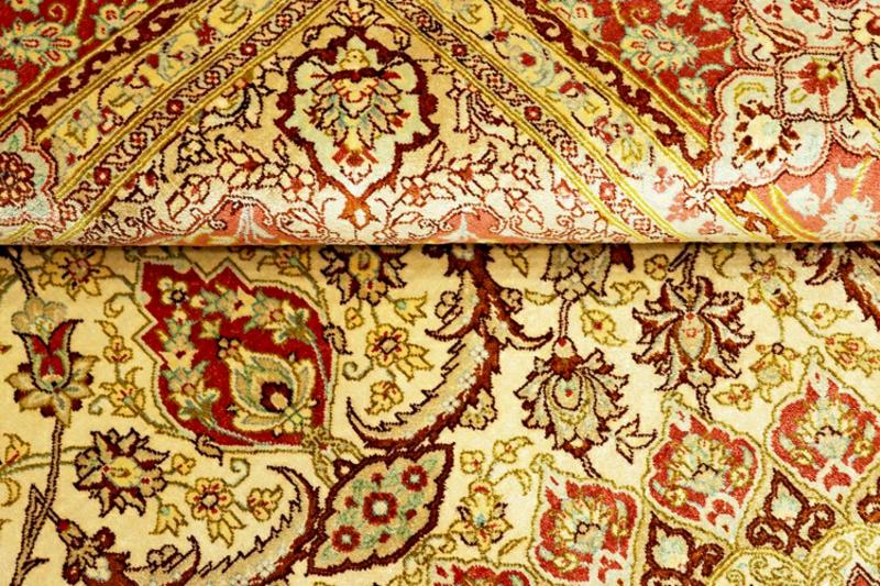 Perserteppich Muster detailreich
