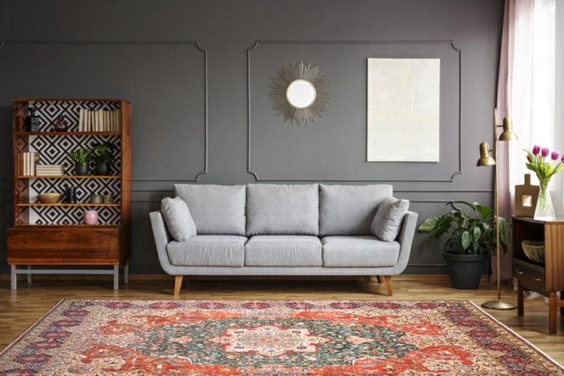 Perserteppich Wohnzimmer attraktiv hochwertig