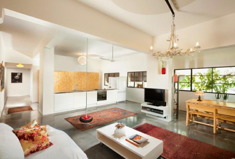 kleine Orientteppiche Akzent Wohnzimmer