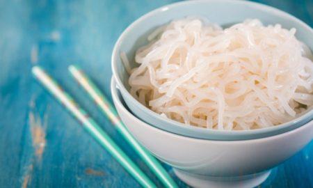 Nudeln ohne Kalorien lecker gesund Shirataki Nudeln