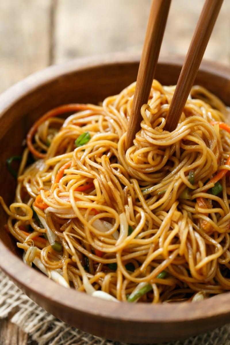 low carb Soja Spaghetti super lecker