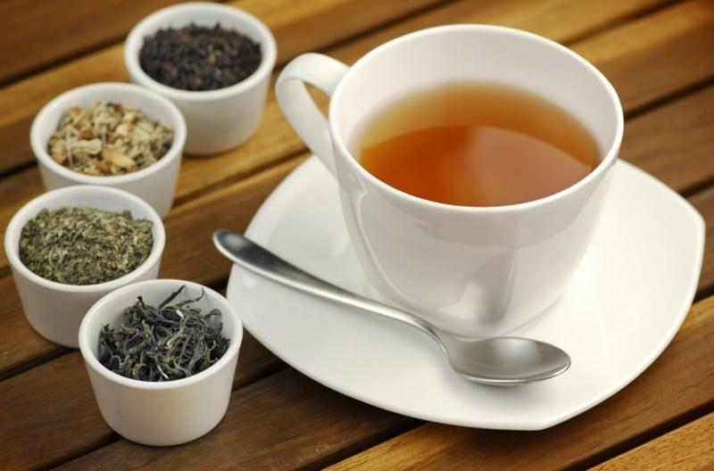Teesorten entgiftend