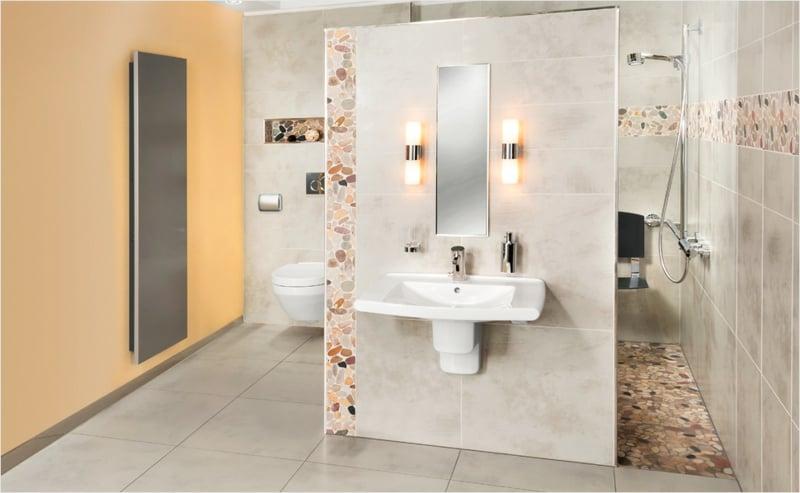 offener Duschbereich praktische Vorteile