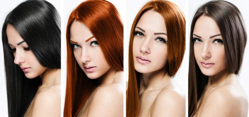 Haare selber färben angesgte Nuancen