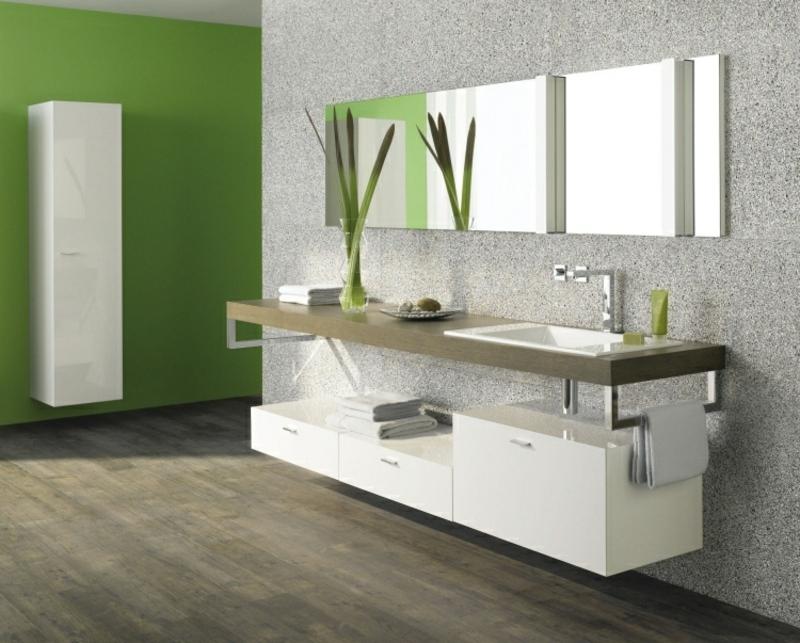 eleganter Badezimmerschrank Modulen