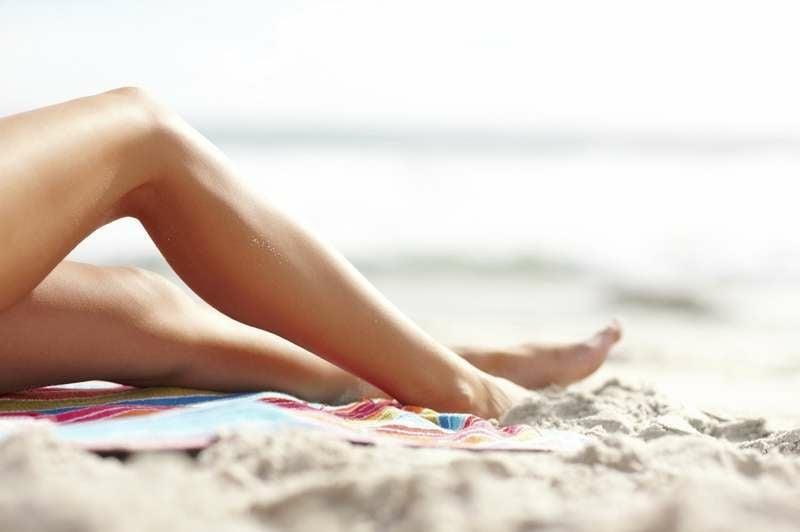 Tippf für glatte Beine