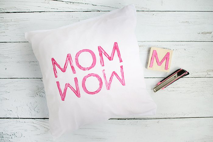 Kissen bedrucken Muttertag