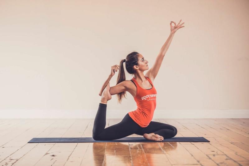 wirkungsvolle Übungen Power Yoga