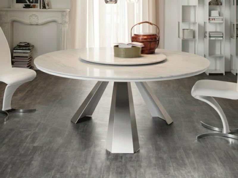 Designer Küchentisch runde Form