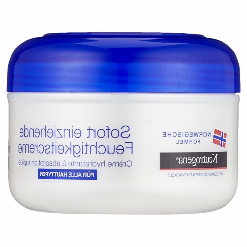 Feuchtigkeitscreme für hydratierte Haut