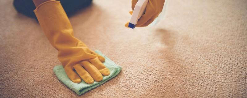 Teppichboden Flecken entfernen Hausmittel