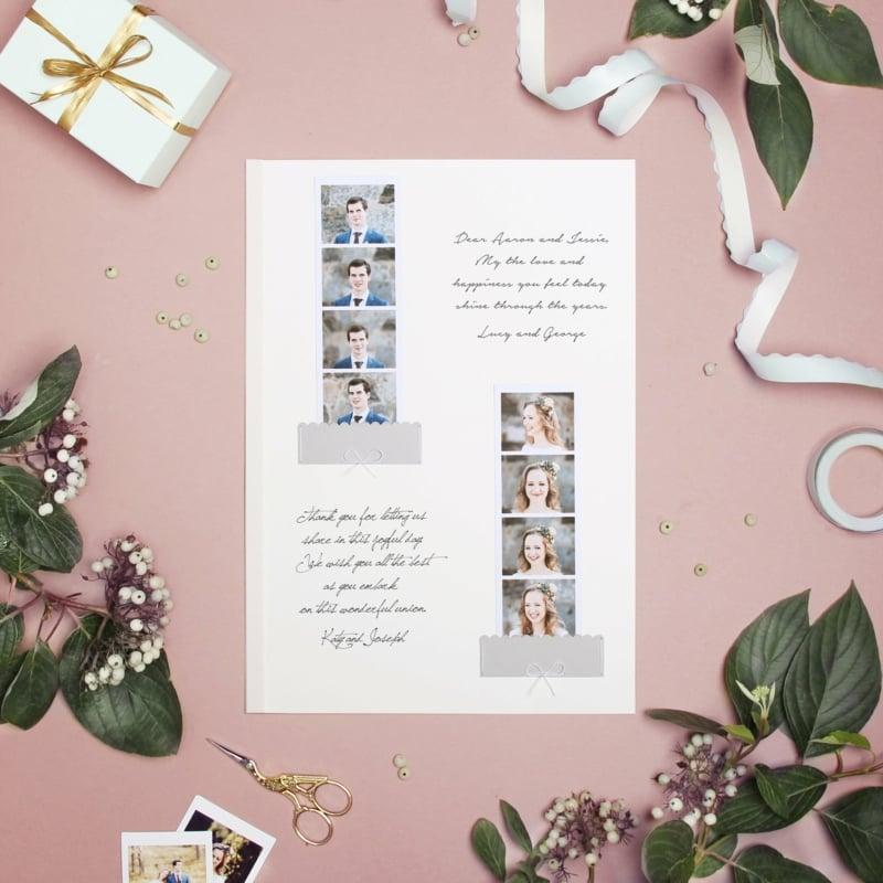 Gästebuch Hochzeit mit Fotos gestalten Photobooth