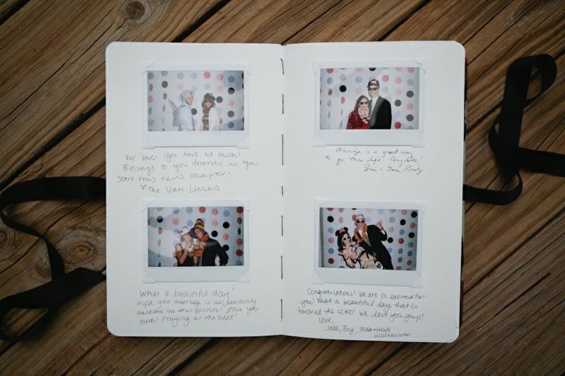 Gästebuch mit Fotos gestalten