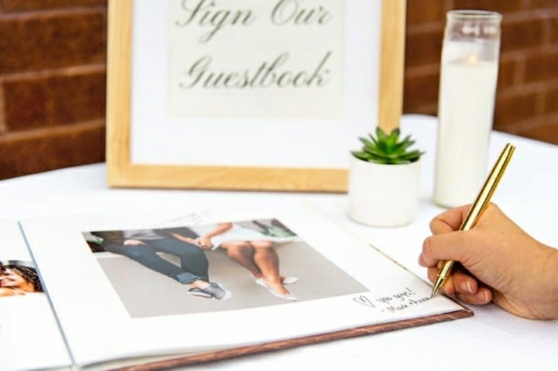 Gästebuch mit Fotos tolle Idee