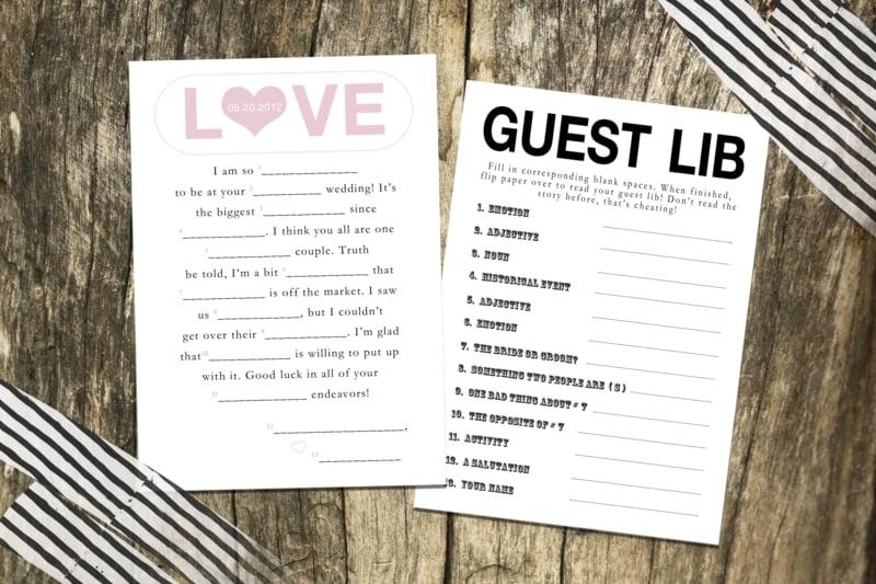dem Brautpaar Tipps geben Guest Lib