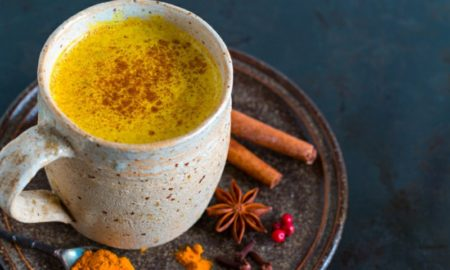 goldene Milch indisches Rezept