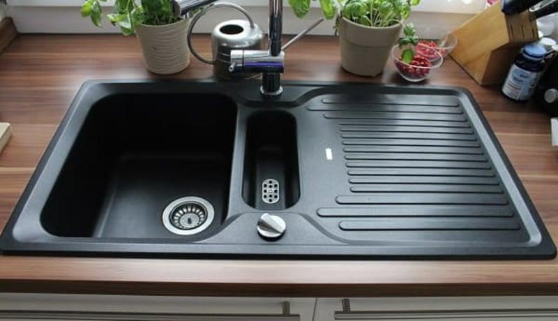 Tipps Spülbecken aus Granit putzen