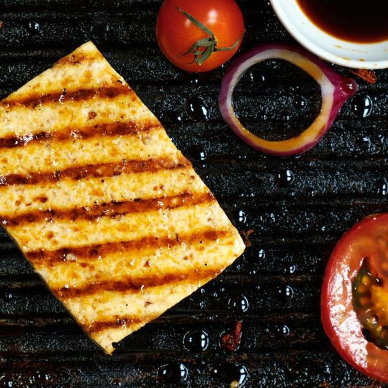 Tofu grillen vegetarisch lecker