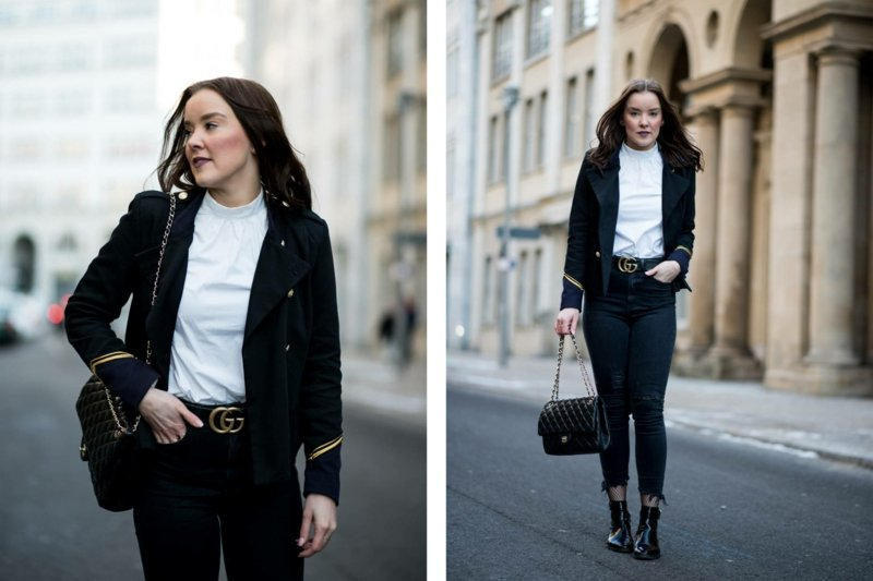 Outfit modern Blazer Jeans