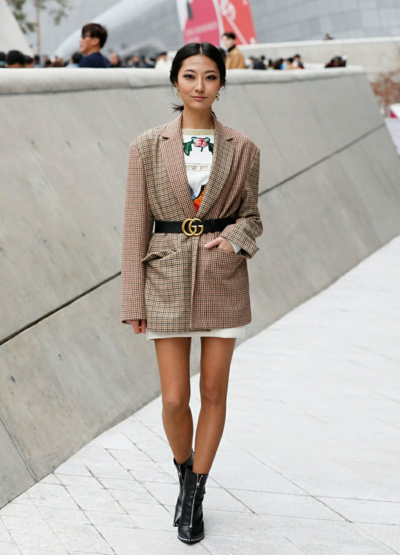 Outfit extravagant Sakko