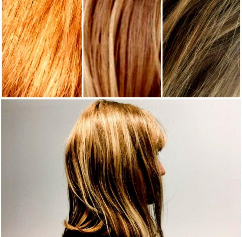 Haare selber färben moderne Ideen
