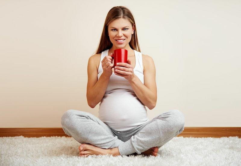 Himbeerblättertee leichtere Geburt