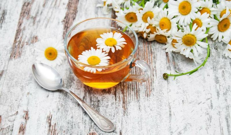 Schwangerschaft Tee Kamillentee DIY
