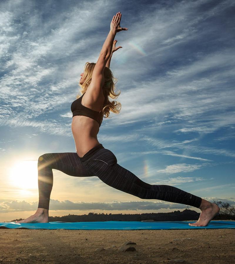 Power Yoga praktizieren Vorteile