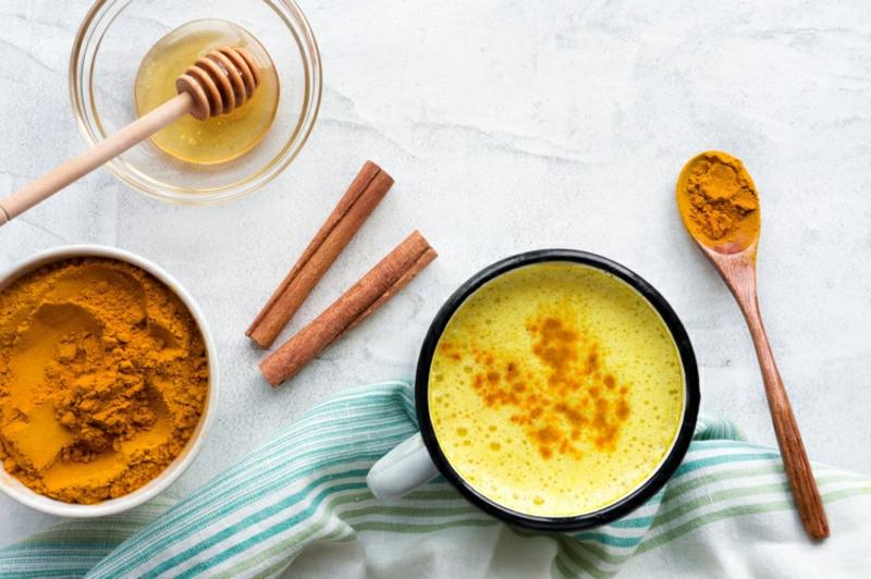 goldene Milch originelles Rezept