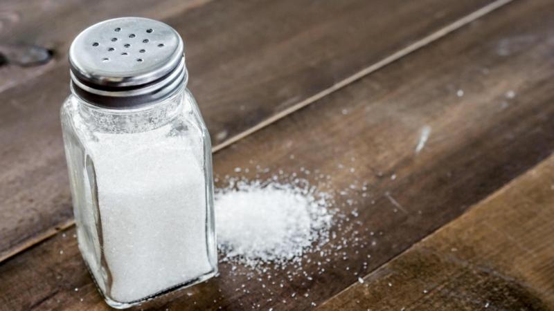 Teppich putzen Salz