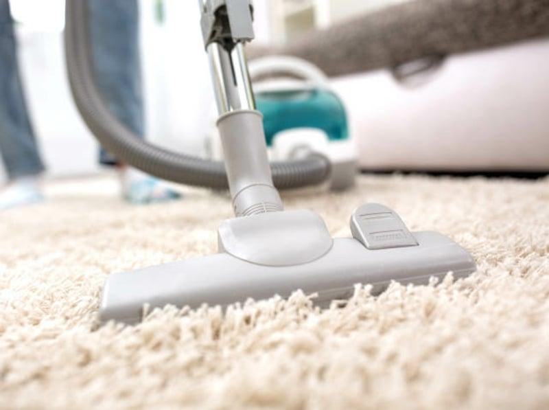 Teppichboden regelmäßig staubsaugen