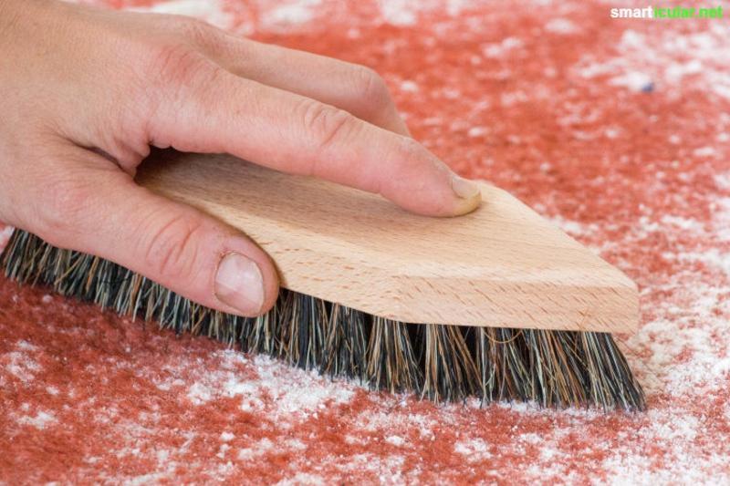 Teppich reinigen mit Natron