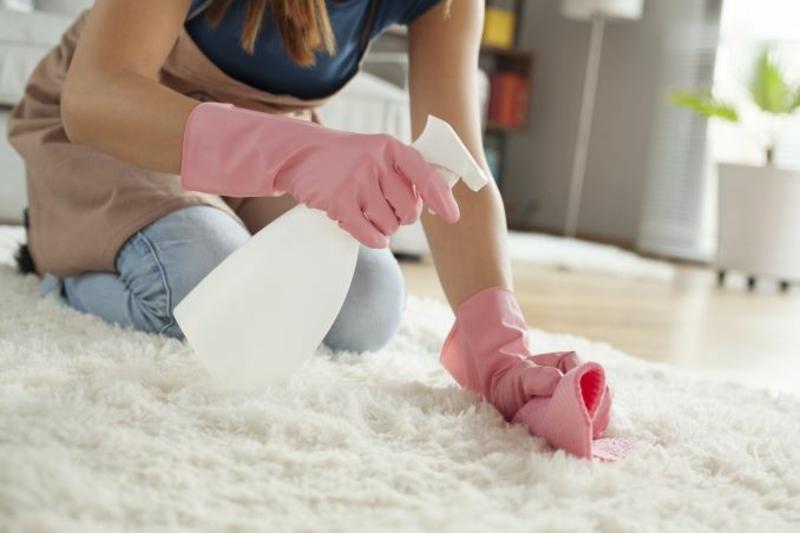 Teppich reinigen mit Hausmitteln