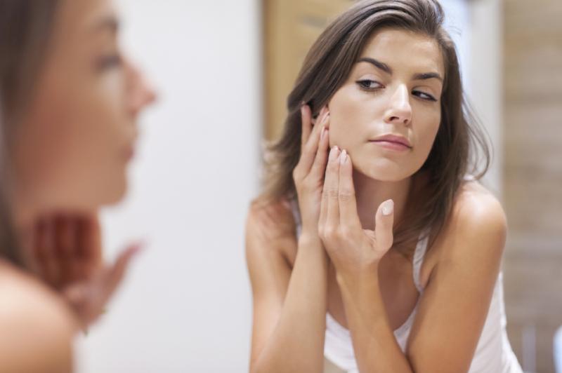 Gesichtsreinigung Hautprobleme Pickel
