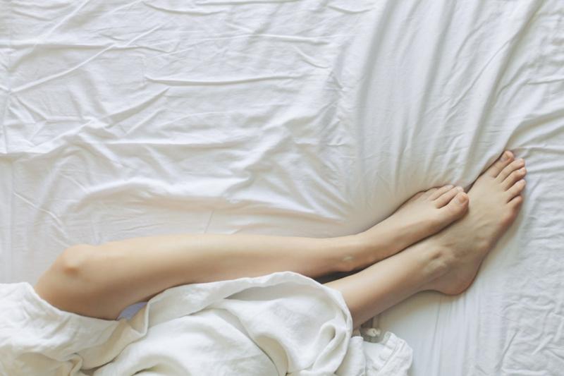 Haarentfernung super glatte Beine