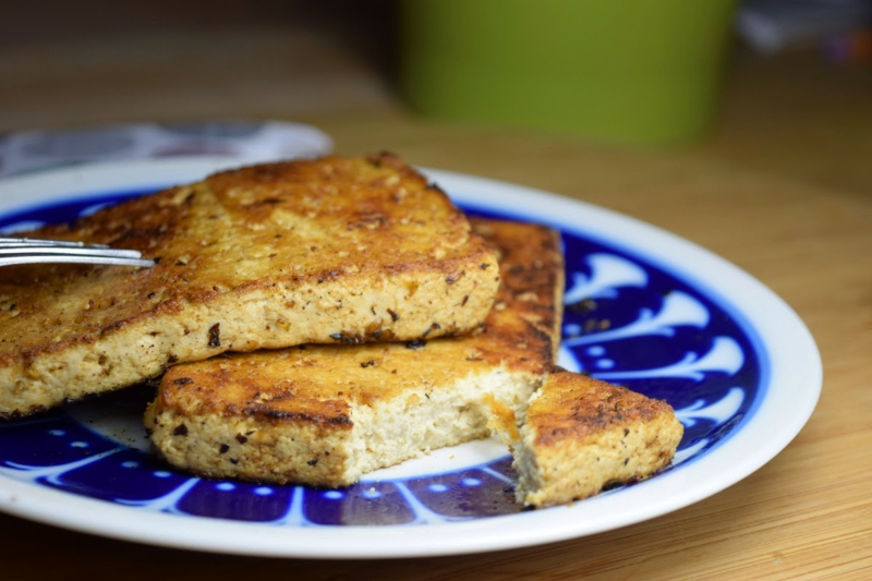 Tofu gegrillt vegane Barbeque