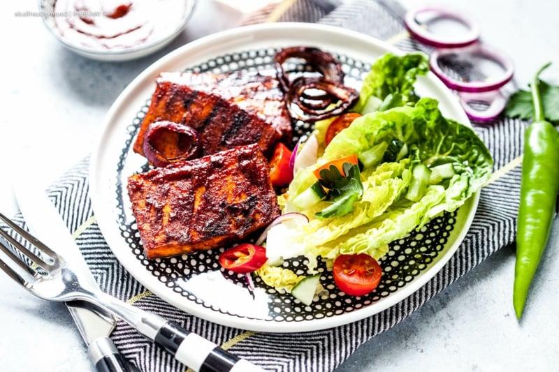 Tofu zubereiten mit Gemüse lecker vegan