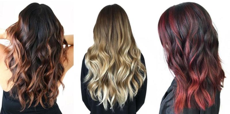 Haare selber färben trendige Nuancen moderne Ideen