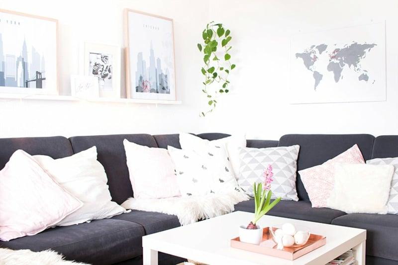 Kissen bedrucken Wohnzimmer