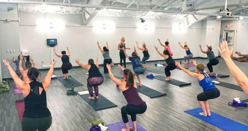intensives Yoga Training abnehmen