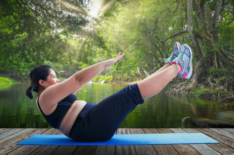 mit Power Yoga dauerhaft abnehmen