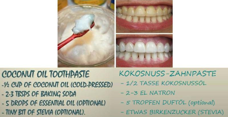 leichtes Zahnpasta Rezept