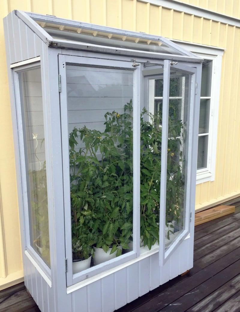 Gewächshaus klein Balkon praktisch