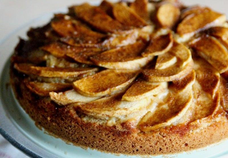 Apfelkuchen backen zuckerfrei