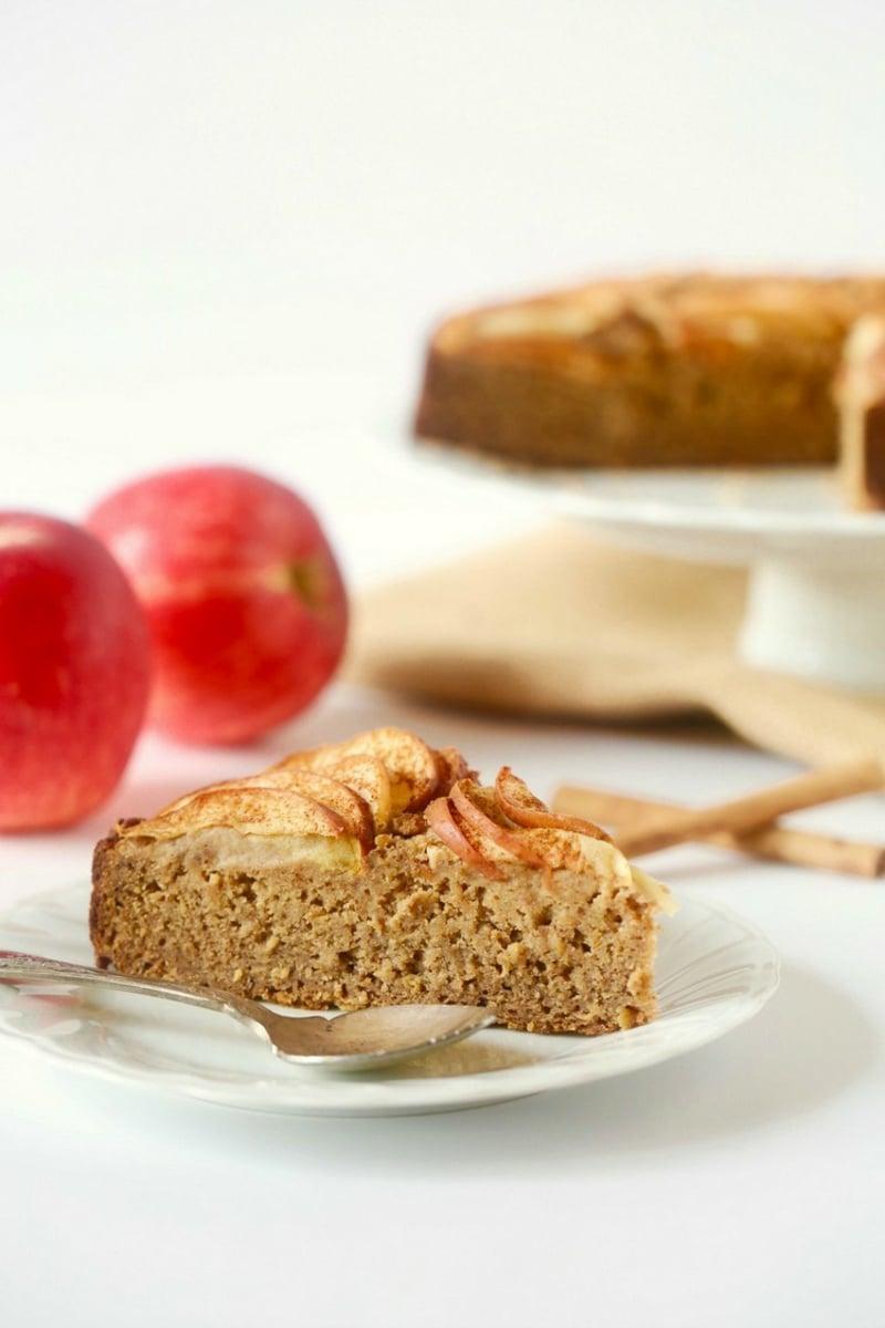 Kuchen backen Apfel