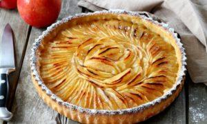 veganer Apfelkuchen backen Schritt für Schritt