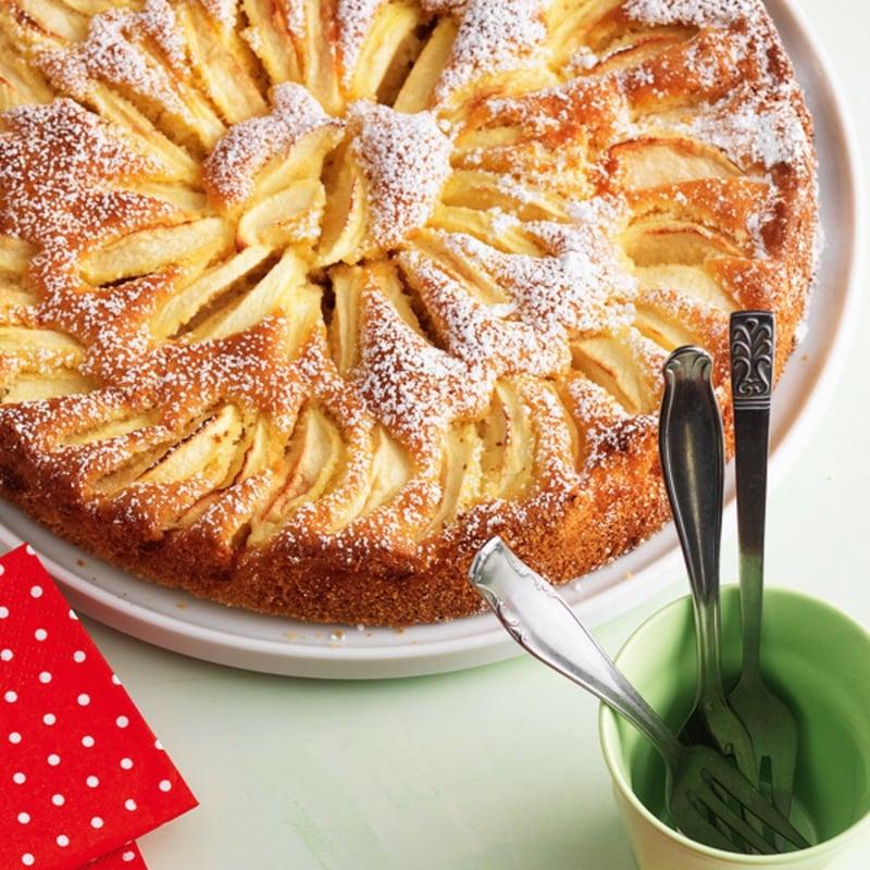 veganer Apfelkuchen Tarte lecker