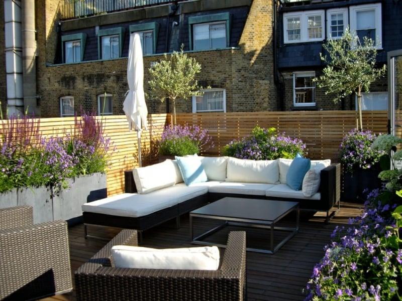 Sonnenschutz Balkon ohne Bohren Sonnenschirm