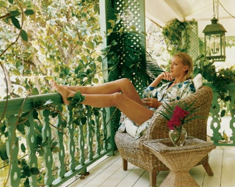 gemütliche Sitzecke Balkon